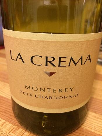 La Crema Monterey 2014 Chardonnay from California