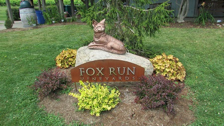Fox Run Vineyards in The Finger Lakes