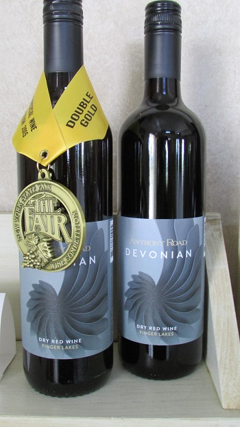 Anthony Road Wine Company's award-winning red wine