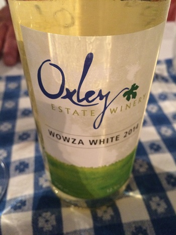 Oxley Estate Winery Wowza White Blend