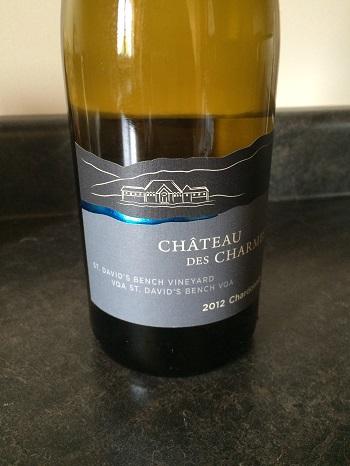 Chateau des Charmes 2012 Chardonnay from Niagara, Canada