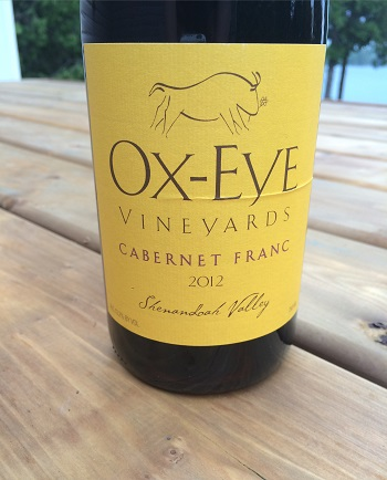 Ox-Eye Vineyards 2012 Cabernet Franc