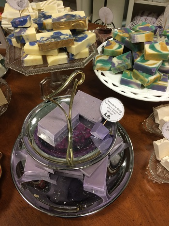 Lavender soap from Serenity Lavender.