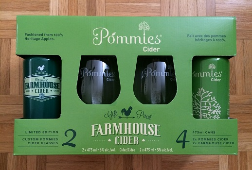 Pommies Cider Gift Pack