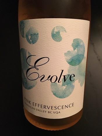 Evolve Cellars Pink Effervescence