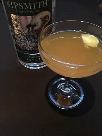 Sipsmith Gin Cocktail