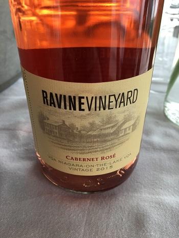 Ravine Vineyard's 2015 Cabernet Rosé