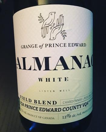 Almanac White Blend