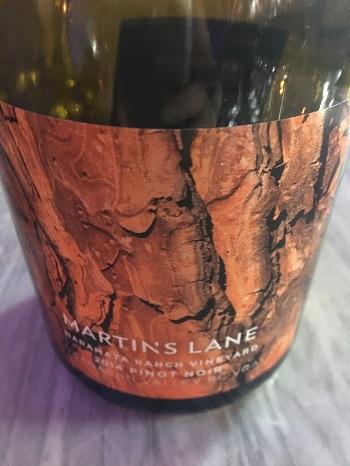 Martin's Lane Pinot Noir