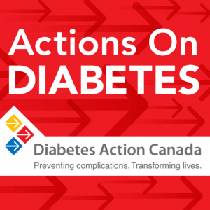 Actions on Diabetes Podcast Logo